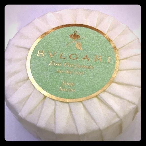 Other - (3) New Large Bvlgari Soap 2.6 oz - Green Tea